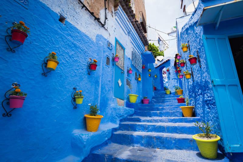 Cidade Azul: Chefchaouen